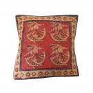 Textured Kantha Block Print Cushion Covers Cotton Pillow Covers