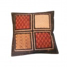 Quilted Pillow Covers Multicolor Cotton Handmade Cushion Covers Decor