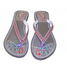 Indian Handmade Beautiful Leather Women Slipper
