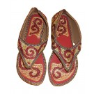 Indian Handmade Women Jari Work Sandal